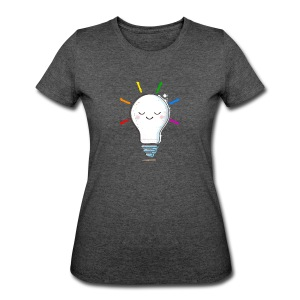 Lighten Up - Women's 50/50 T-Shirt