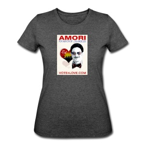 Amori for Mayor of Los Angeles eco friendly shirt - Women's 50/50 T-Shirt