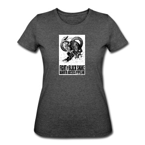 Fight the Black Snake NODAPL - Women's 50/50 T-Shirt