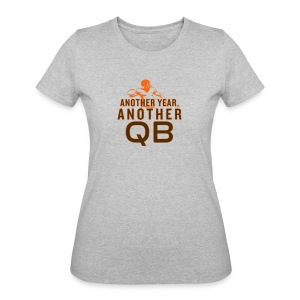 Another Year, Another QB - Women's 50/50 T-Shirt