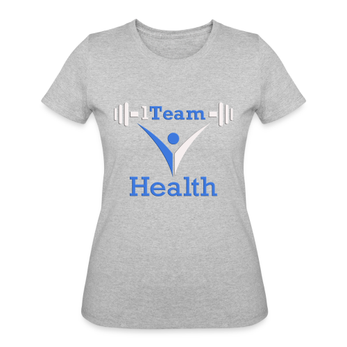 1TH - Blue and White - Women's 50/50 T-Shirt