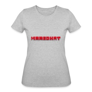 MrRedHat Plain Logo - Women's 50/50 T-Shirt