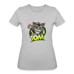Talking_TOM_wave_preview_lowRes - Women's 50/50 T-Shirt