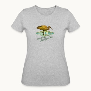 BIRDER - White-faced ibis - Carolyn Sandstrom - Women's 50/50 T-Shirt