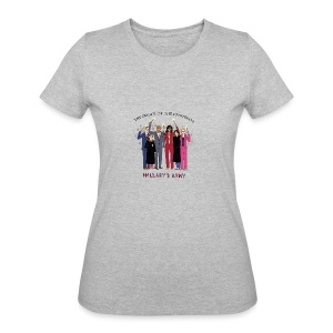 The Order of the Pantsuits: Hillary's Army - Women's 50/50 T-Shirt