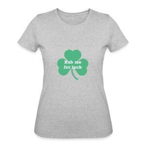 Rub me for luck - Women's 50/50 T-Shirt