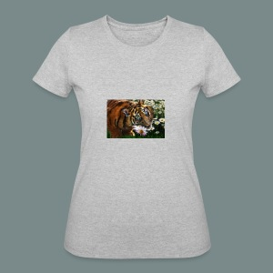 Tiger flo - Women's 50/50 T-Shirt