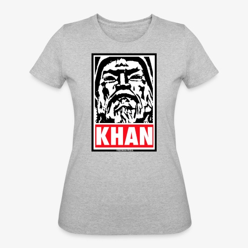 Obedient Khan - Women's 50/50 T-Shirt