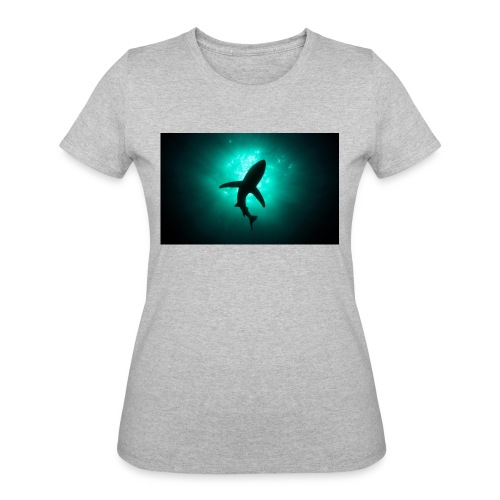 Shark in the abbis - Women's 50/50 T-Shirt