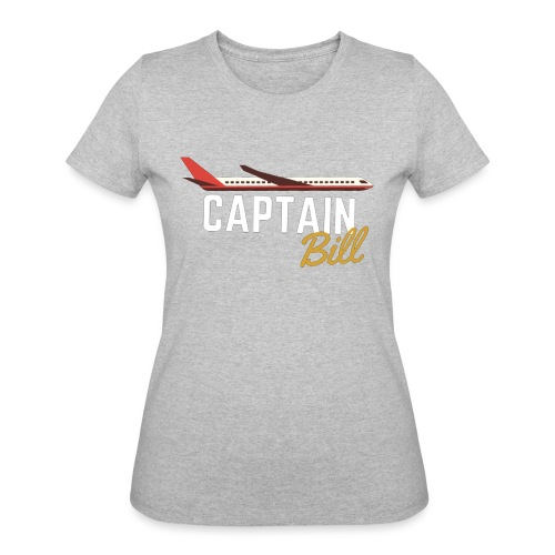 Captain Bill Avaition products - Women's 50/50 T-Shirt