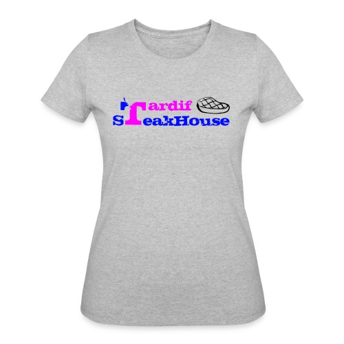 Tardif SteakHouse Blue Pink - Women's 50/50 T-Shirt