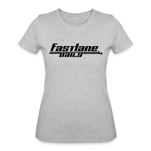 Fast Lane Daily logo - Women's 50/50 T-Shirt