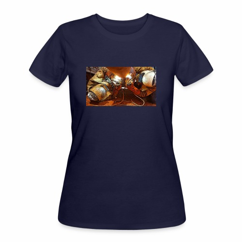 Pipeliners Down Under - Women's 50/50 T-Shirt