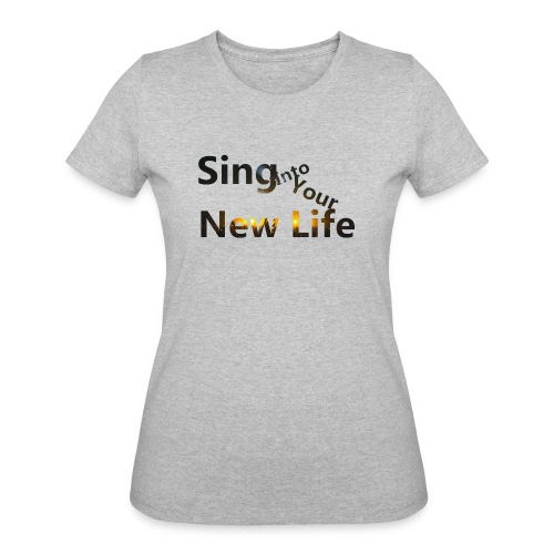 Sing in Brown - Women's 50/50 T-Shirt