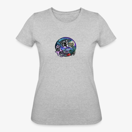 Mother CreepyPasta Nursery Rhyme Circle Design - Women's 50/50 T-Shirt