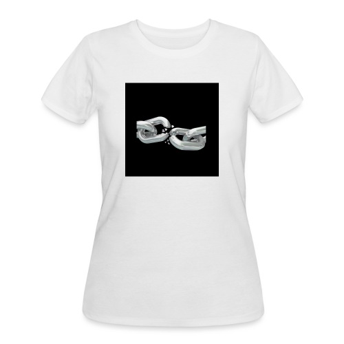 break the chains - Women's 50/50 T-Shirt