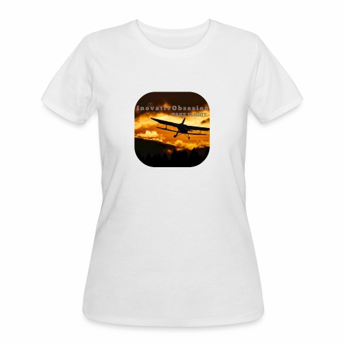 "InovativObsesion ""TAKE FLIGHT"" apparel - Women's 50/50 T-Shirt"