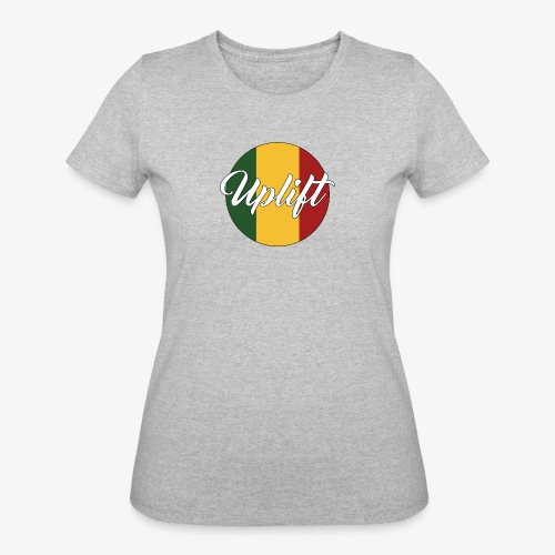 Uplift Rasta Basic // - Women's 50/50 T-Shirt