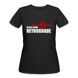 Vegas Prime Retrograde - Title and Hack Symbol - Women's 50/50 T-Shirt