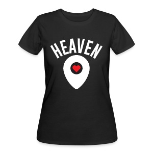 Heaven Is Right Here - Women's 50/50 T-Shirt