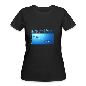 Respect The Shark - Women's 50/50 T-Shirt