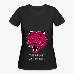 This Pussy Grabs Back - Women's 50/50 T-Shirt