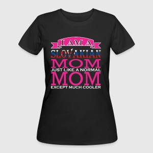 Slovakian Mom Just Like Normal Mom Except Cooler - Women's 50/50 T-Shirt