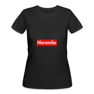 Harambe x Supreme Box Logo - Women's 50/50 T-Shirt