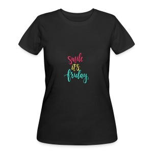 Smile its Friday - Women's 50/50 T-Shirt