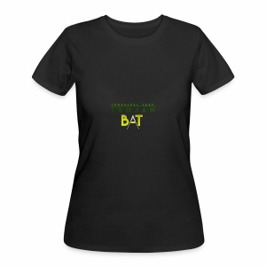 New Trojan Bat Logo - Women's 50/50 T-Shirt