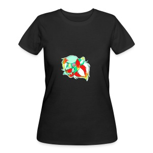 Psychedelic Lion - Women's 50/50 T-Shirt
