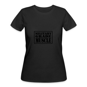 Military Grade Muscle Black - Women's 50/50 T-Shirt