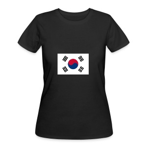 Flag of South Korea - Women's 50/50 T-Shirt