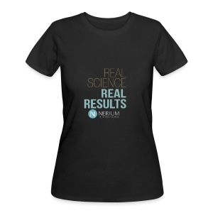 Real Science Real Results Nerium - Women's 50/50 T-Shirt