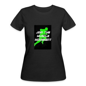 muscle movement - Women's 50/50 T-Shirt