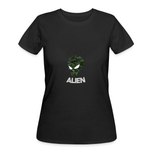 Military Alien - Women's 50/50 T-Shirt