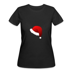 Carmaa Santa Hat Christmas Apparel - Women's 50/50 T-Shirt