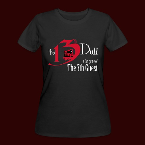 The 13th Doll Logo - Women's 50/50 T-Shirt
