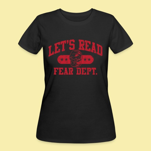 Fear Dept - Athletic Red - Inverted - Women's 50/50 T-Shirt