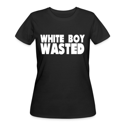 White Boy Wasted - Women's 50/50 T-Shirt