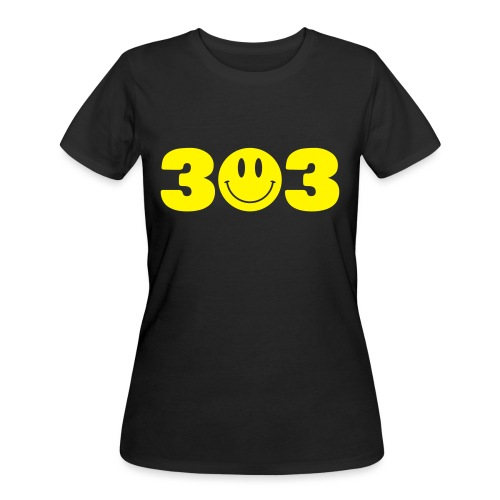 3 Smiley 3 - Women's 50/50 T-Shirt