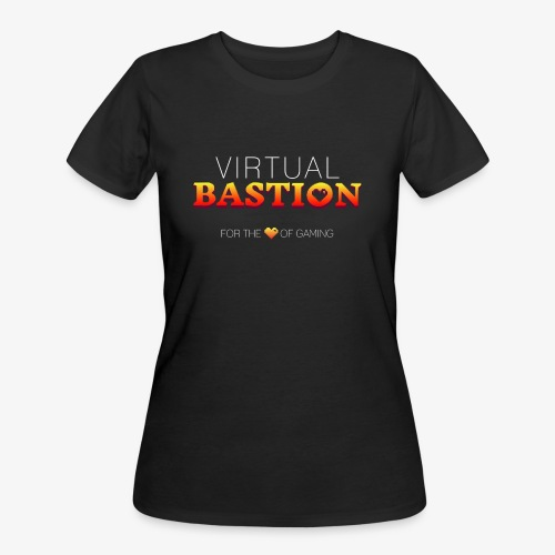 Virtual Bastion: For the Love of Gaming - Women's 50/50 T-Shirt