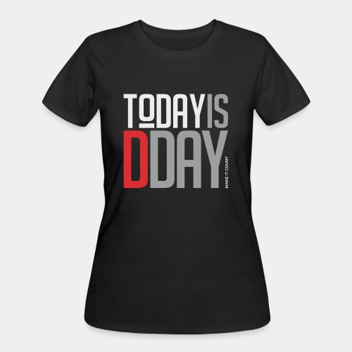 today day important - Women's 50/50 T-Shirt