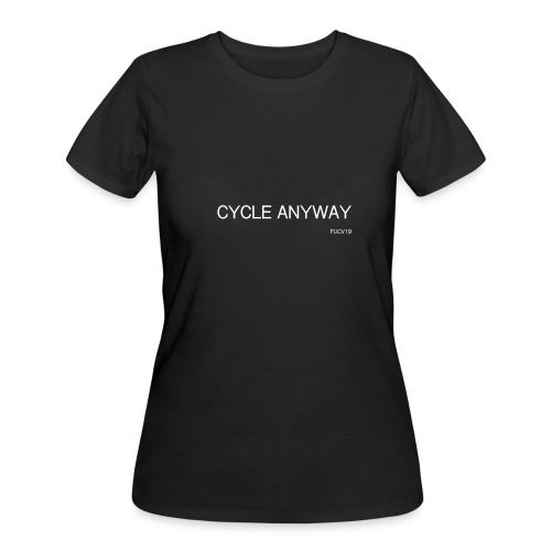 CYCLE, white font - Women's 50/50 T-Shirt