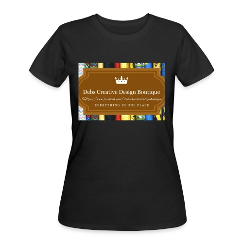 Debs Creative Design Boutique with site - Women's 50/50 T-Shirt