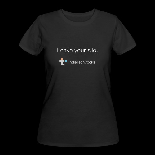 Leave Your Silo - Women's 50/50 T-Shirt