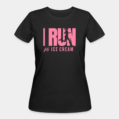 run for ice cream - Women's 50/50 T-Shirt