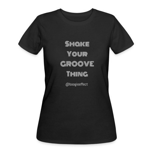 shake your groove thing white - Women's 50/50 T-Shirt