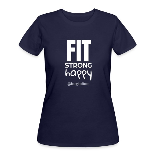 fit strong happy white - Women's 50/50 T-Shirt