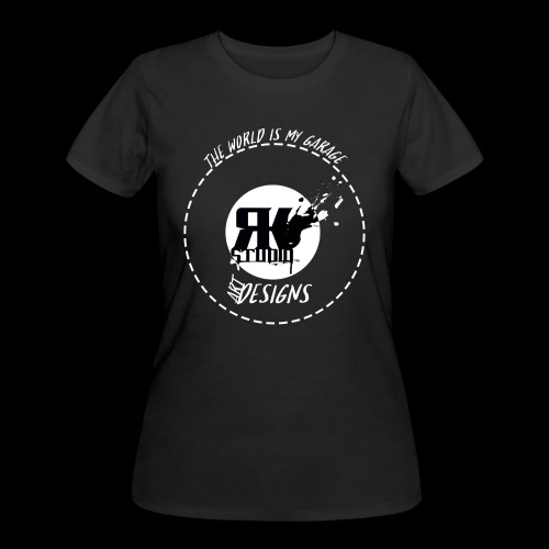 The World is My Garage - Women's 50/50 T-Shirt